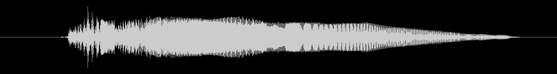 ドワーフ 応援ジュフ01の未再生の波形