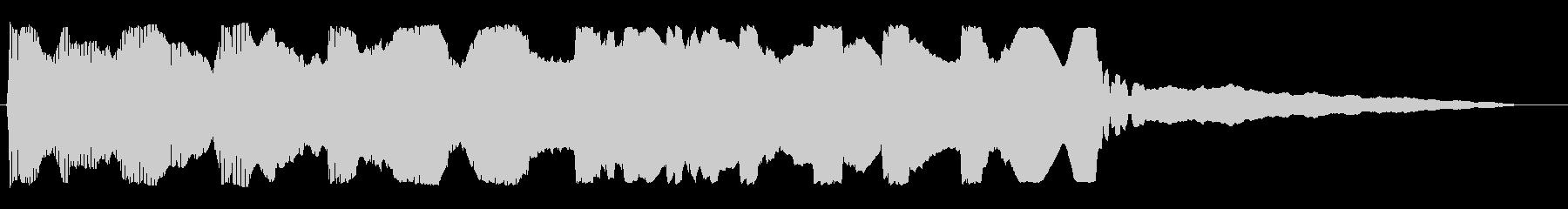 ポワンポワン(プロペラ)の未再生の波形