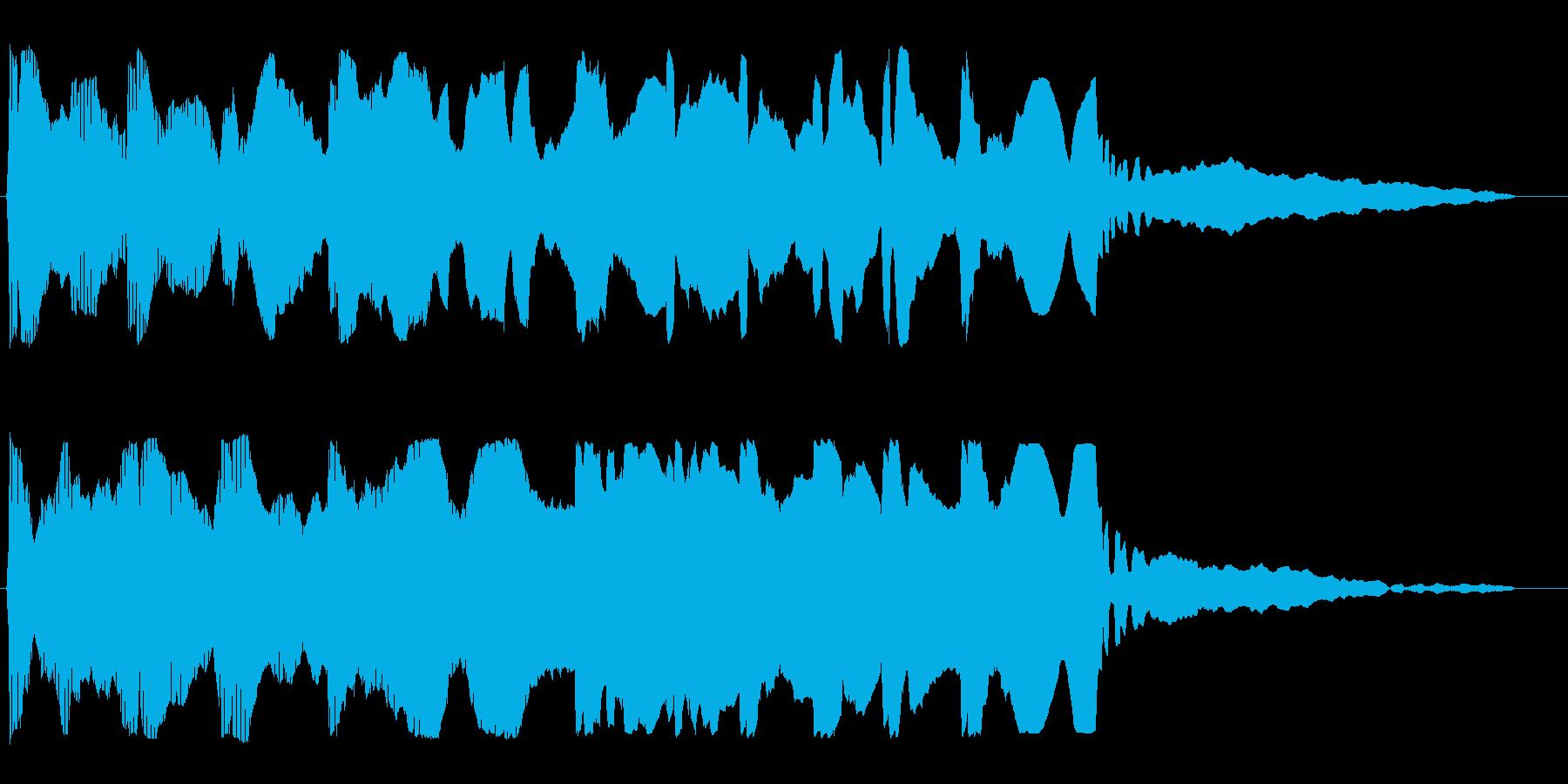 ポワンポワン(プロペラ)の再生済みの波形