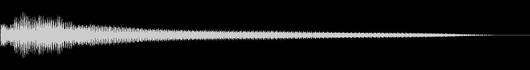 ジャラジャラジャラ~ンの未再生の波形