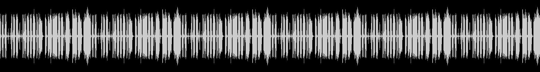 トークBGM のんき ループ処理済の未再生の波形