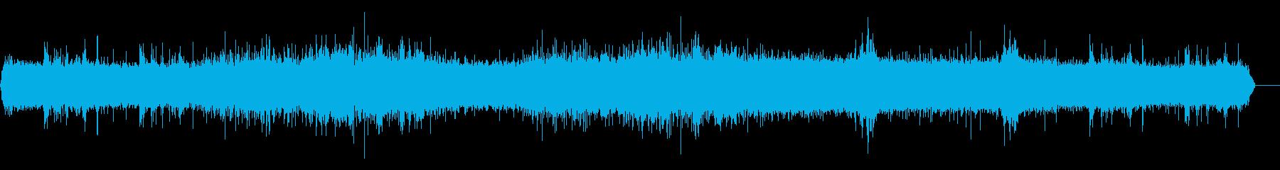 雨2の再生済みの波形