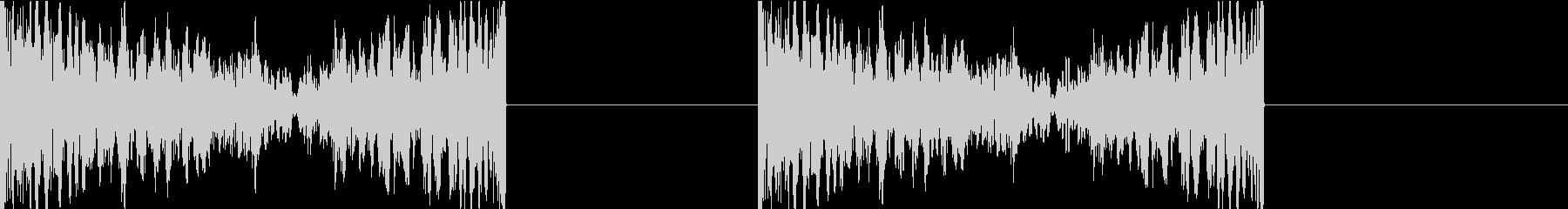 DJプレイ スクラッチ・ノイズ 269の未再生の波形