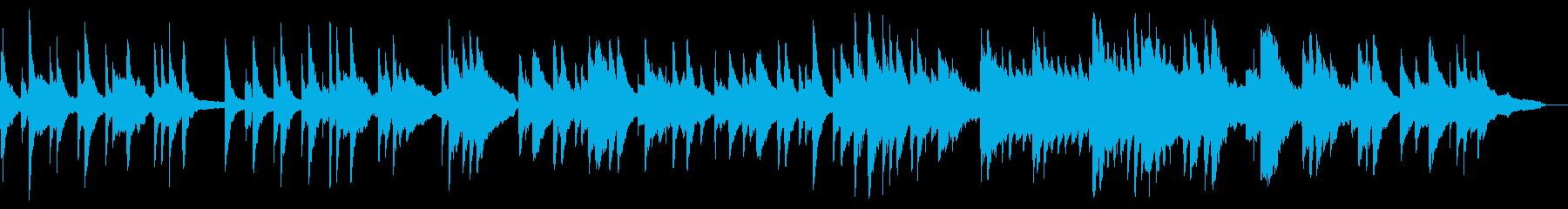 高音質で音数少なく美しいピアノバラードの再生済みの波形