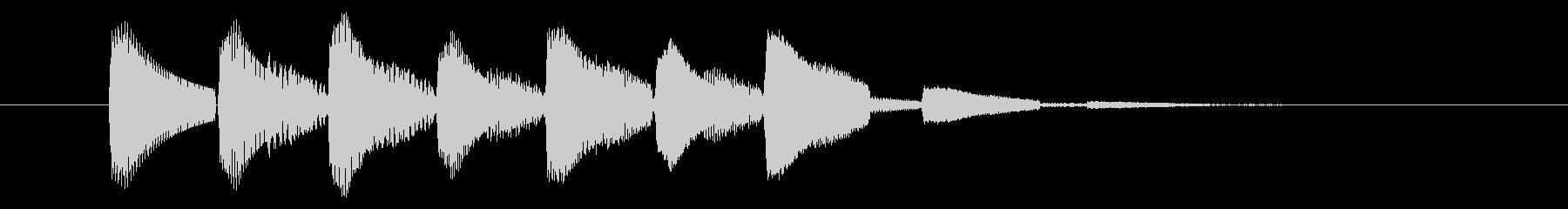 移動/ワープ/場面転換の未再生の波形