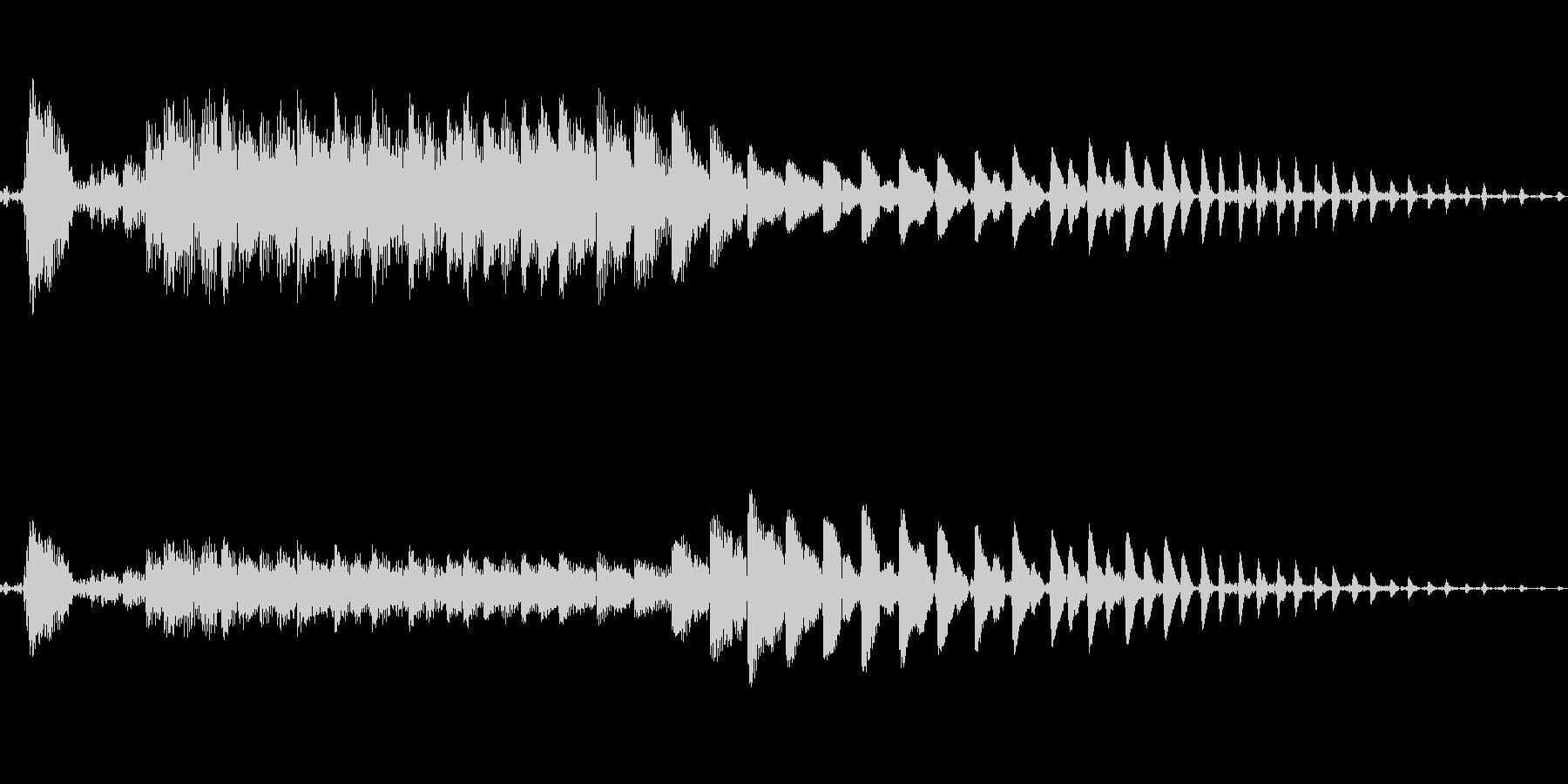 ポイ〜ン♪コミカルで可愛いジャンプ音04の未再生の波形