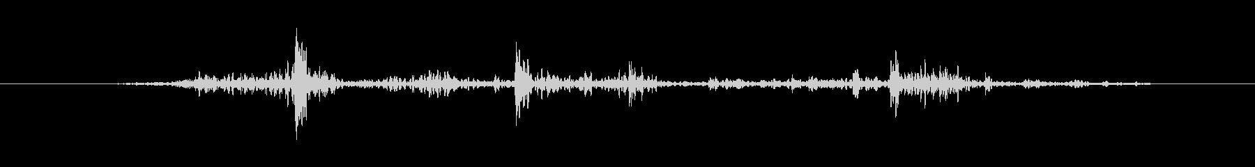 フラグ ミディアムフラップ03の未再生の波形