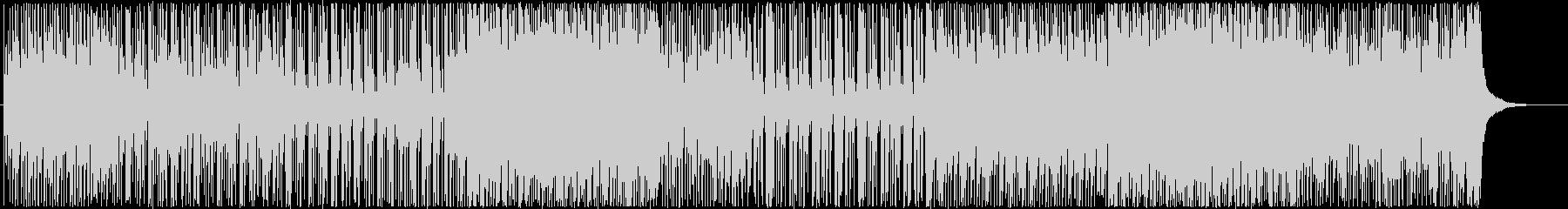 元気で前向きなポップ-インストロックの未再生の波形