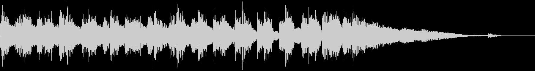 生演奏ギター ブルースジングルの未再生の波形