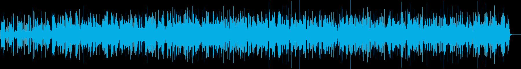 クリスマスの定番サイレントナイトの再生済みの波形