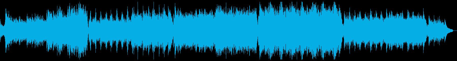 壮大な開幕プレリュード:パーカッション抜の再生済みの波形