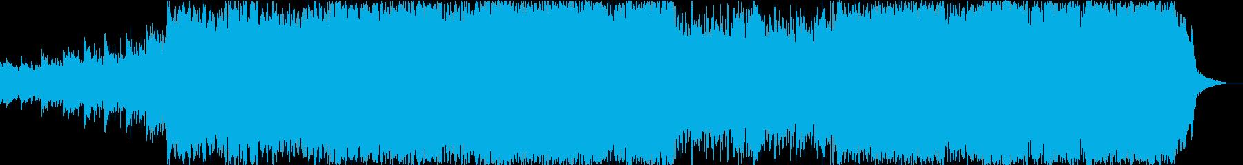 現代の交響曲 積極的 焦り 広い ...の再生済みの波形
