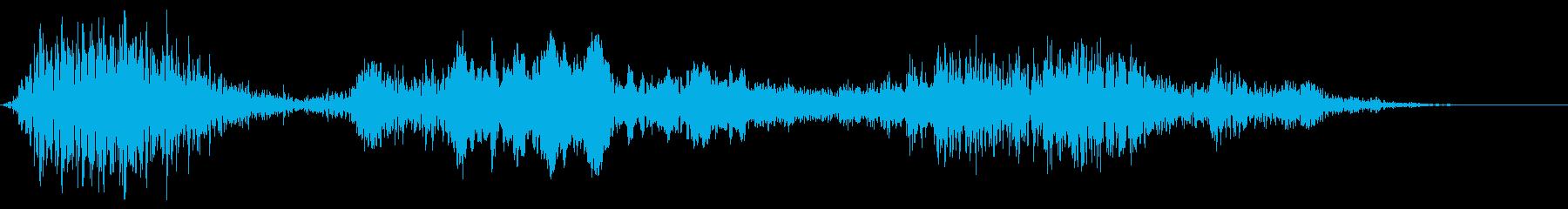 ロボットまたはコンピューター:ヘビ...の再生済みの波形