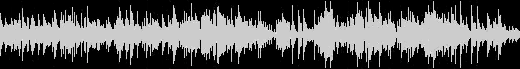 リラックス、ジャズ・バラード ※ループ版の未再生の波形