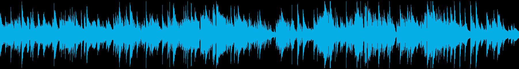 リラックス、ジャズ・バラード ※ループ版の再生済みの波形