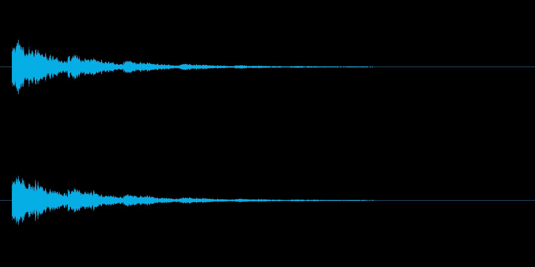【ひらめき09-8】の再生済みの波形