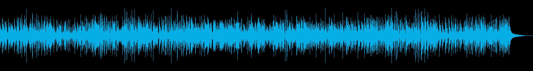 ほのぼのおしゃれピアノジャズ料理カフェ系の再生済みの波形