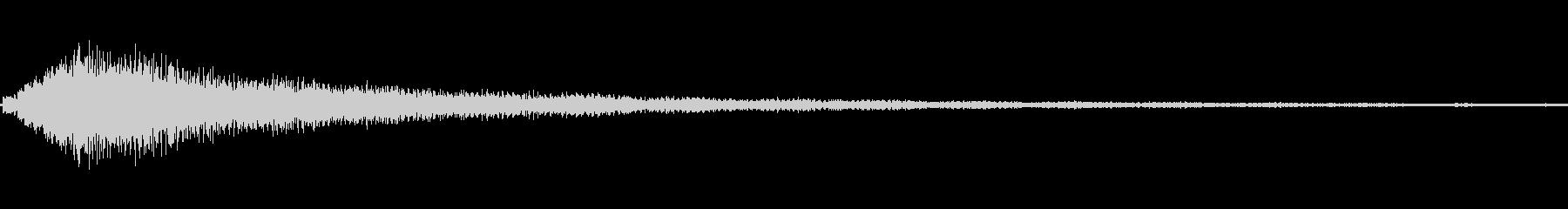 ハープグリスコードダウン高速bの未再生の波形