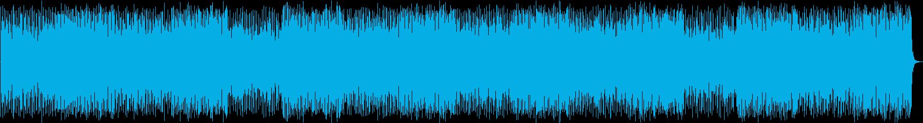 元気でポップで可愛らしいBGMの再生済みの波形