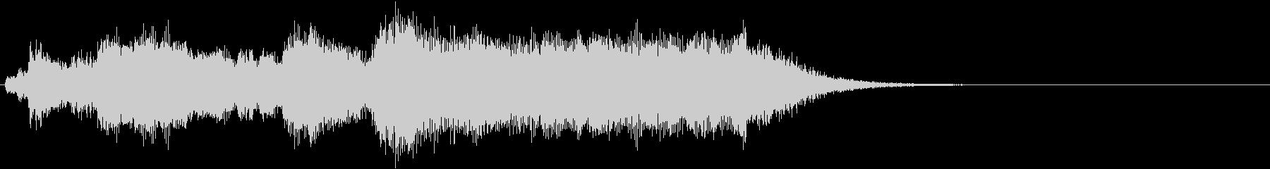 オーソドックスな金管ファンファーレの未再生の波形