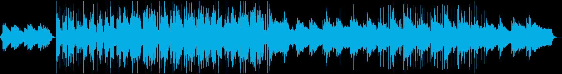 【高音質】朝から爽やかお洒落なチルホップの再生済みの波形