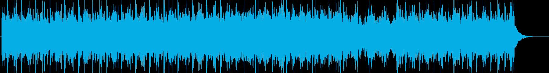 緊迫(ホラー、アクション系サントラ)の再生済みの波形