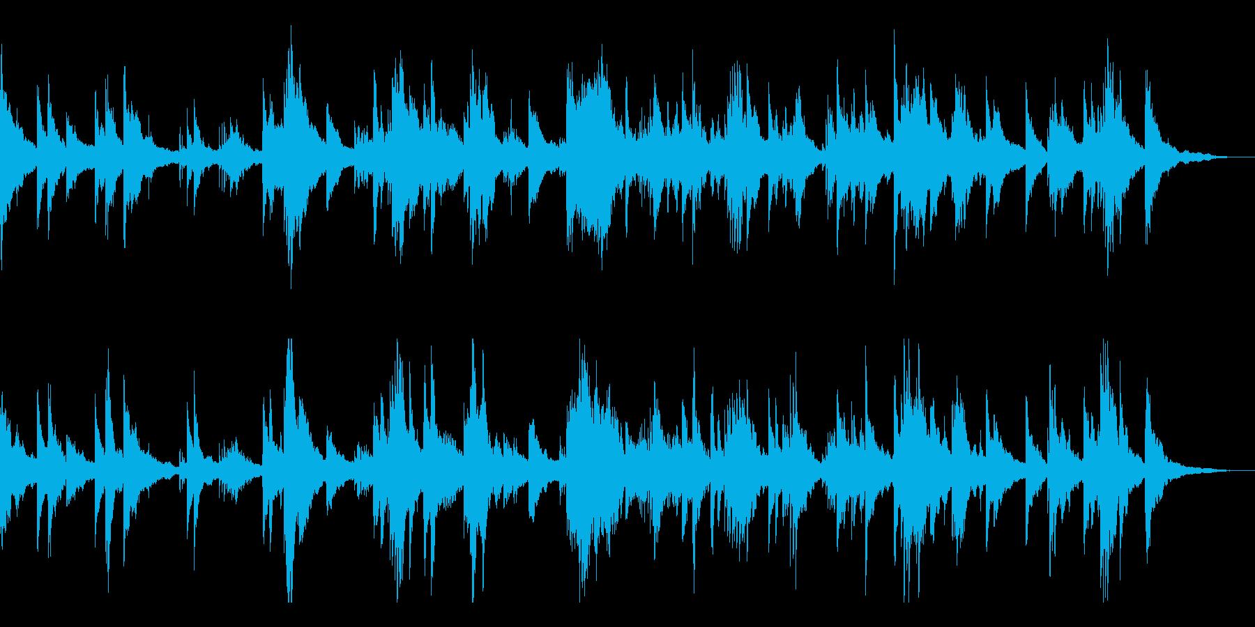 不気味と静寂/和風の雰囲気10-ピアノ他の再生済みの波形