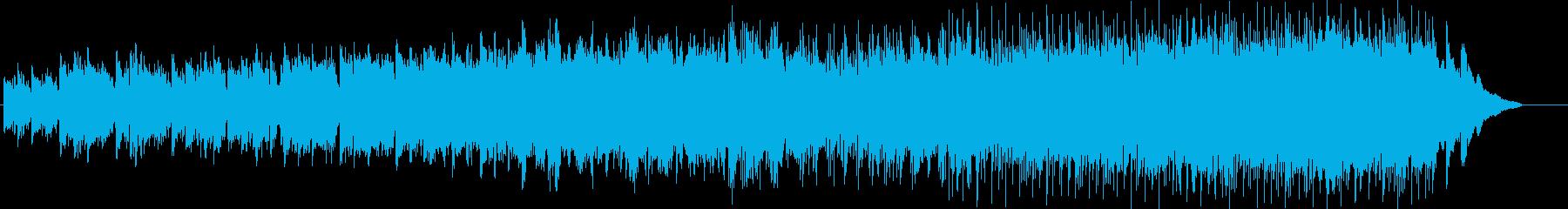 オカリナの憂いが印象的なポップスの再生済みの波形