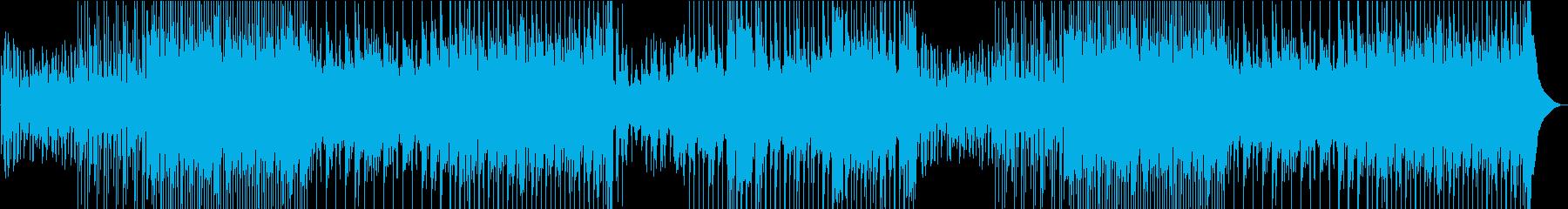 美しい女声の楽しいウクレレ楽曲の再生済みの波形