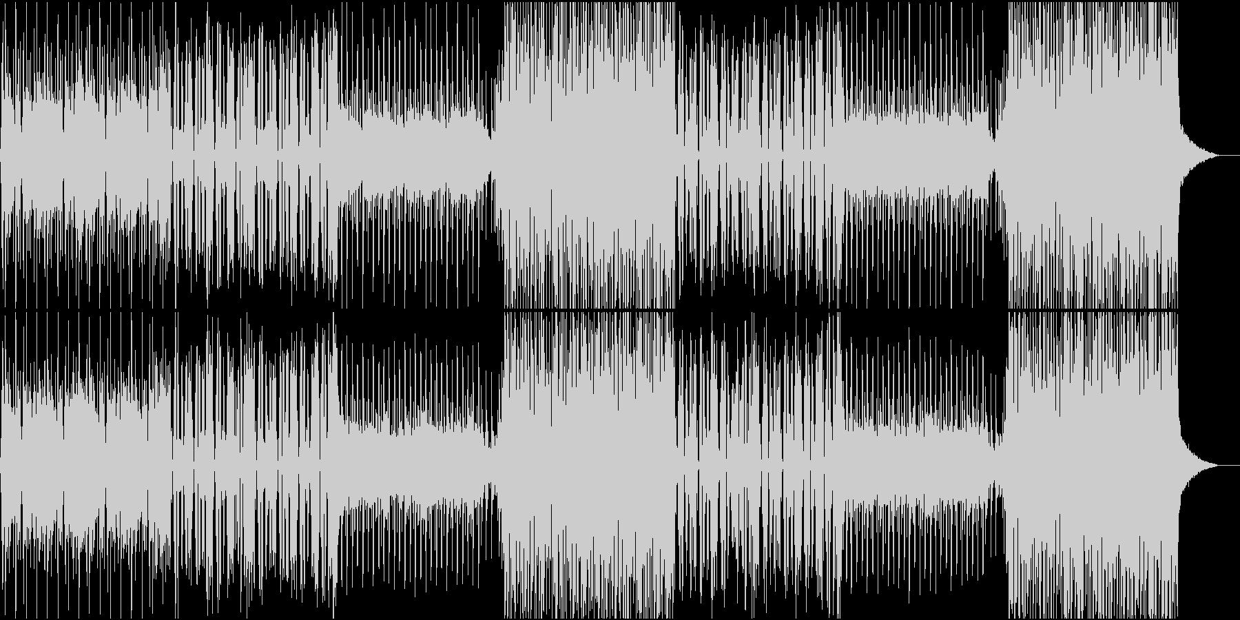 おしゃれなFuture bass EDMの未再生の波形