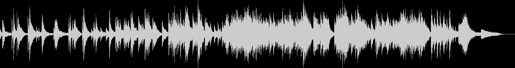映像・ナレーション用ピアノ演奏(広がり)の未再生の波形
