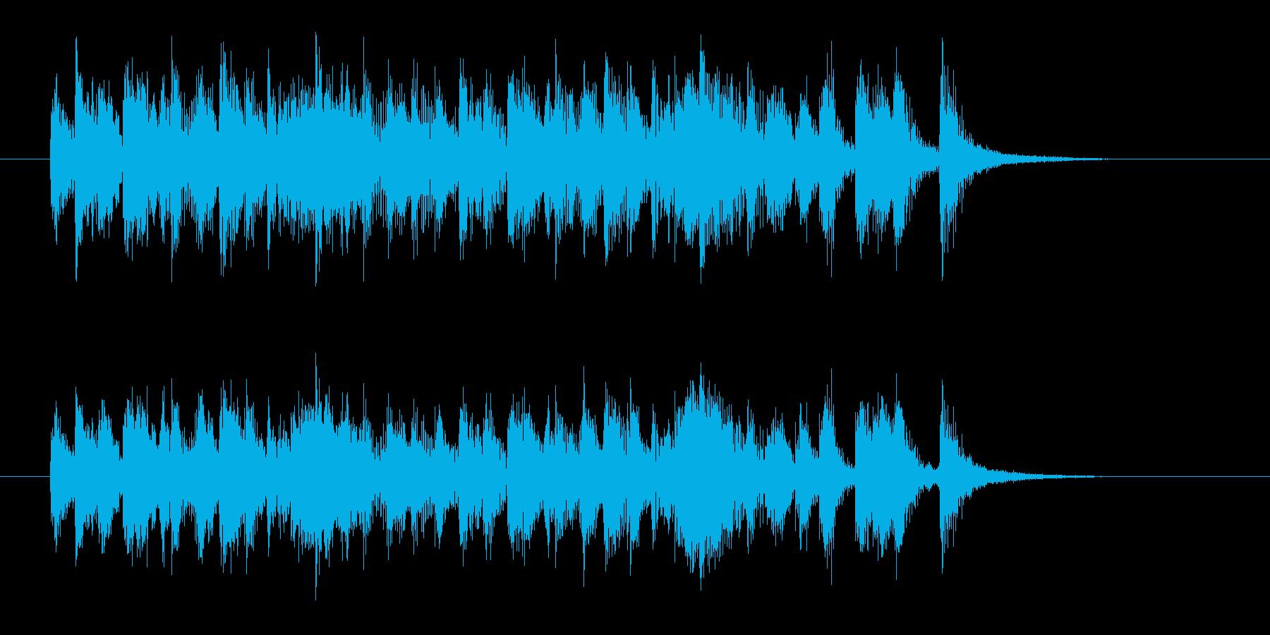 少しアダルトなジャズの再生済みの波形