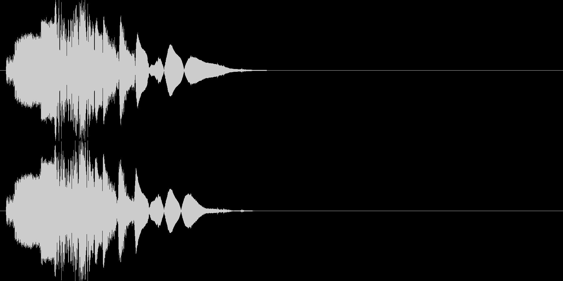 斬撃:武器を突き立てる4の未再生の波形