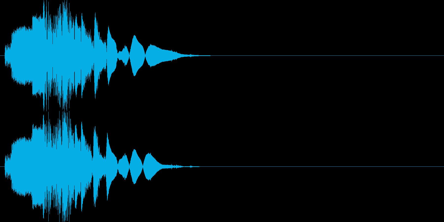 斬撃:武器を突き立てる4の再生済みの波形