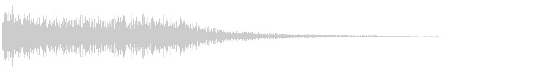 モーフヒット、メタル、エレクトロニ...の未再生の波形