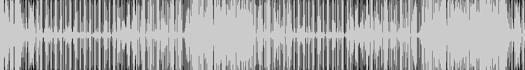 思わず踊ってしまう SynthMusicの未再生の波形
