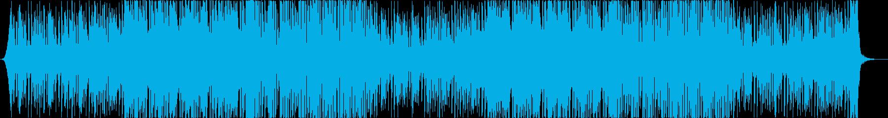 レトロでおしゃれな80'Sエレクトロaの再生済みの波形