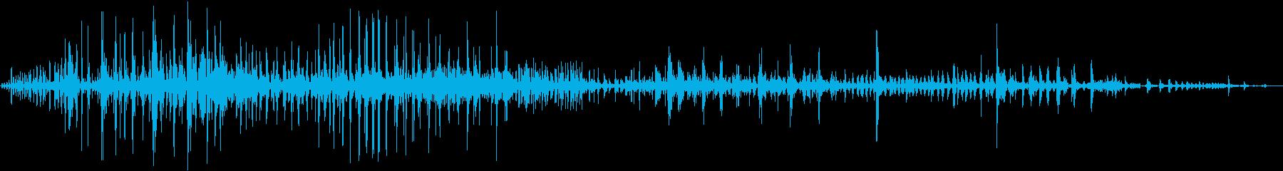 軋む音・踏みつけ_2の再生済みの波形