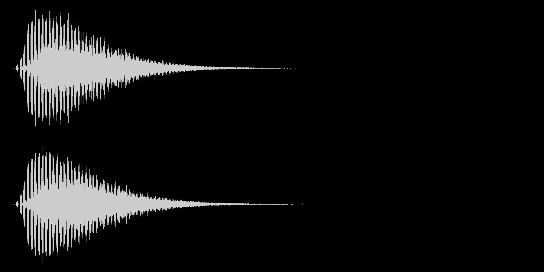 流れ星・彗星 転がるキラキラ Starの未再生の波形