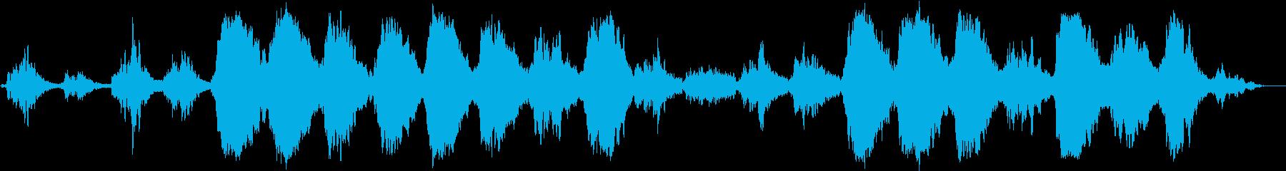 高周波の音楽で脳を刺激し、活性化を促すの再生済みの波形