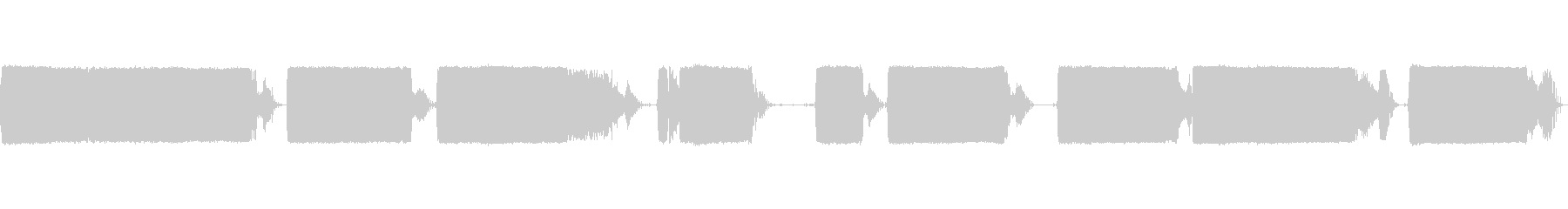 ロータリーハンマー:コンクリートブ...の未再生の波形