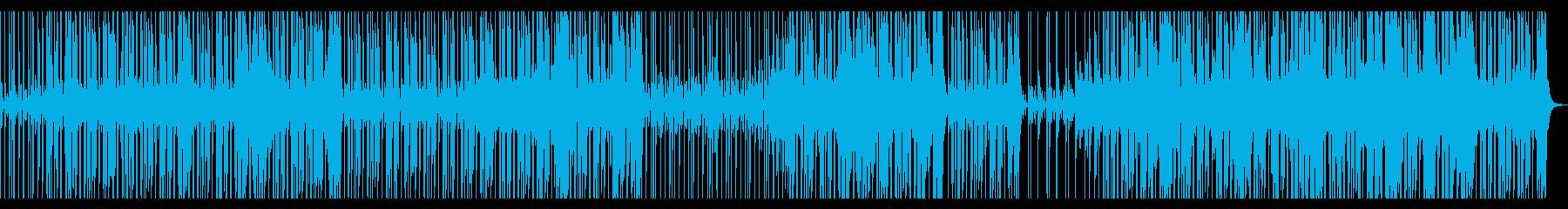 【メロ無し】スローテンポのファンクロックの再生済みの波形