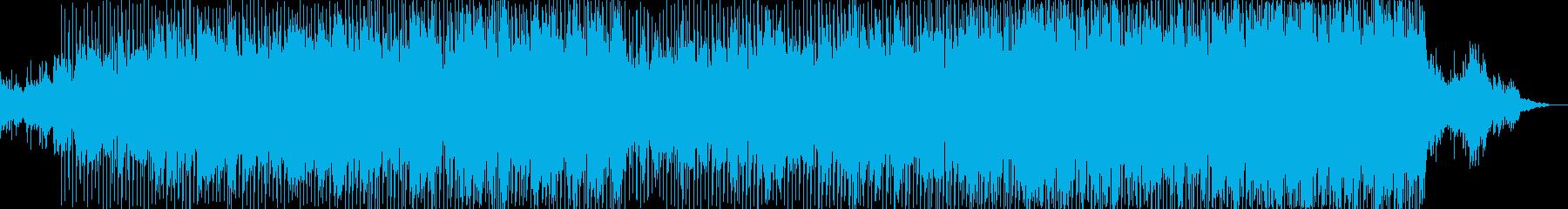 ここから始まるわくわく感のある爽やかな曲の再生済みの波形