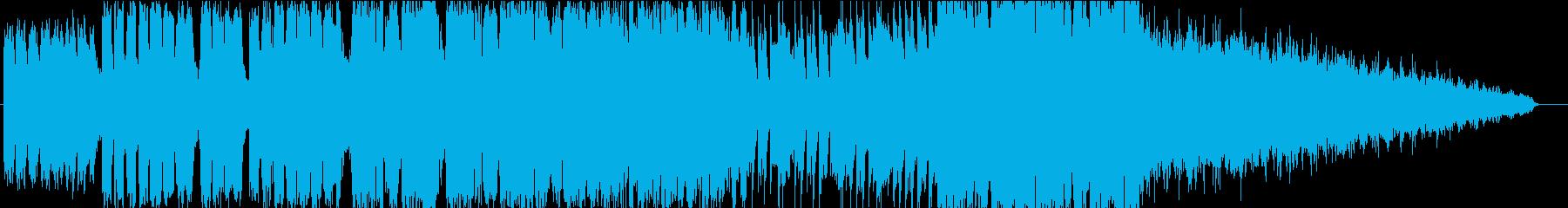 ストリングスを使用した壮大なファンタジーの再生済みの波形