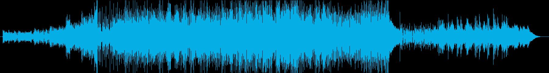 国歌コーラン節の再生済みの波形