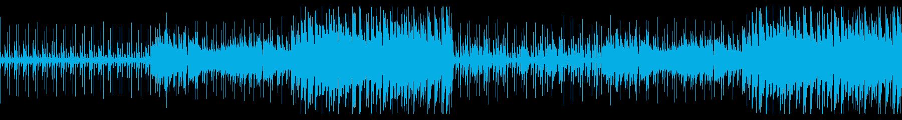 切なく感情的に高まるバイオリンBGM の再生済みの波形