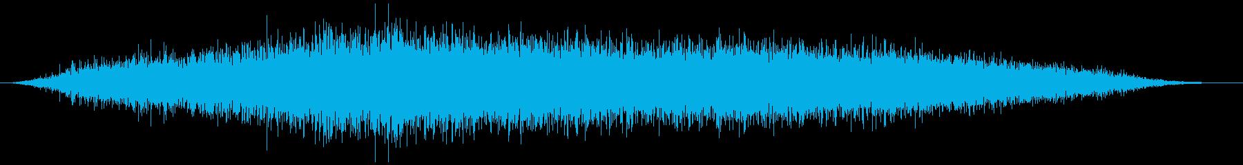 引き出し、ふすま(静かに開閉)ズススーッの再生済みの波形