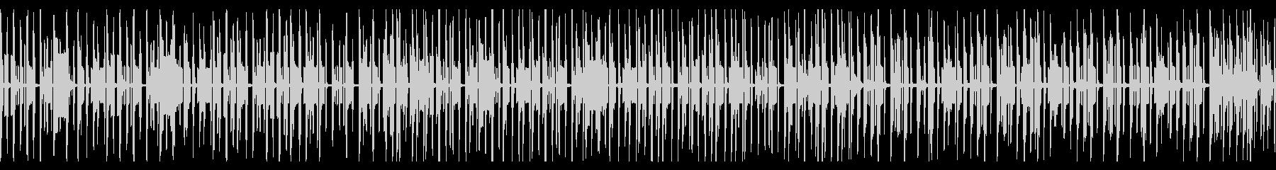 動画向け ゆるい雰囲気のピコピコ脱力系の未再生の波形