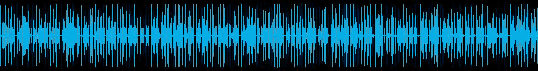 動画向け ゆるい雰囲気のピコピコ脱力系の再生済みの波形