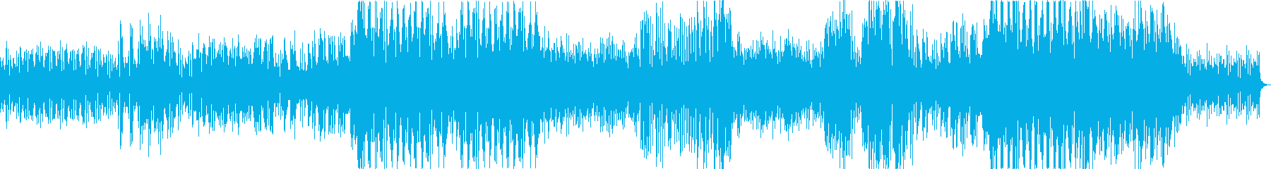 とある漫画の1シーンを想定して作った曲…の再生済みの波形
